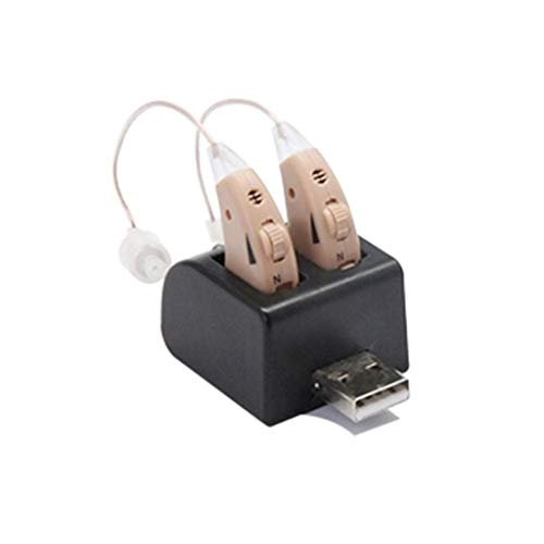 Hörverstärker, komplett in Kanal, unsichtbar Super Mini verstellbar, Stimme Verstärker, klein