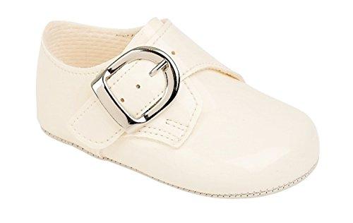 Pour bébé garçon époque Baypods Smart boucle Chaussures de six mois et de moins de 36 mois - Motif ivoire