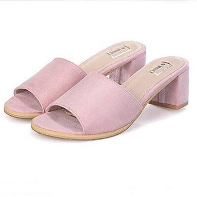 LvYuan Da donna-Sandali-Casual-Altro-Quadrato-PU (Poliuretano)-Giallo Rosa Pink