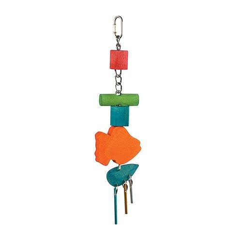 Happy Pet Gran timbre Parrot juguete