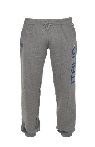 Arena Trousers FIN Pantalone  Unisex adulto, Collezione Italia per la Federazione Italiana Nuoto (FIN), Grigio, S