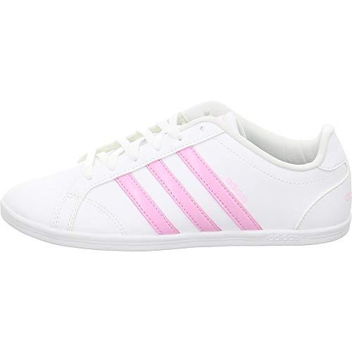 size 40 38e90 4300a adidas Coneo QT, Chaussures de Tennis Femme, Blanc FTWR WhiteTrue Pink