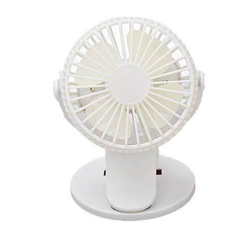 fice 360 ° Drehbarer Lüfter Mit 3 Geschwindigkeiten Ventilator Für Kinderwagen Mini Elektrischer Ventilator ()