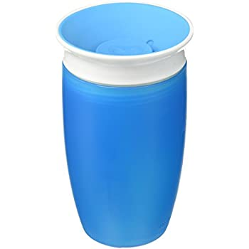 Munchkin Miracle 360 Degree Sippy Cup, 10 oz/296 ml, Blue