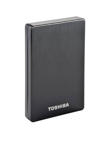 Toshiba PA4262E-1HE0 STOR.E Alu 2S 500GB externe Festplatte (6,4 cm (2,5 Zoll), USB 3.0) schwarz