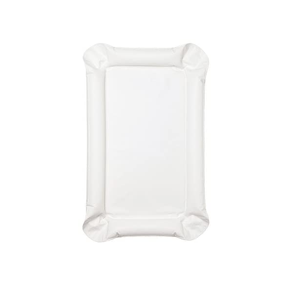 IKEA SKOTSAM - Babycare mat, white - 53x80x2 cm Ikea Soft for the baby since all 4 sides are inflatable. Easy to clean 1