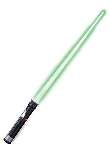 Spada laser Jedi star wars prodotto ufficiale Il Risveglio della Forza spada con luce di guerre stellari darth vader stormtrooper kylo ren travestimento carnevale spada luminosa cosplay halloween costume star wars
