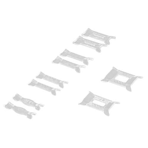 Healifty Regolatore della Dimensione dell\'anello 12 Pezzi per Anelli Sciolti