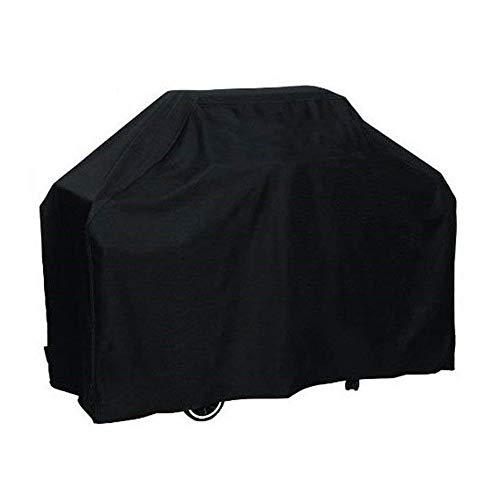 Siruiton telo bbq copertura impermeabile grill protettivo barbecue cover anti pioggia tessuto oxford copre nero (170 x 61 x 117 cm)