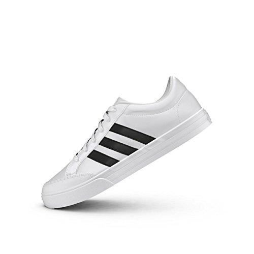 adidas Vs Set, Sneaker a Collo Basso Uomo Bianco (Footwear White/core Black/core Black)