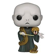 """Funko- Pop Harry Potter: 10"""" Voldemort w/Nagini S10 Figura da Collezione, Multicolore, 48037"""