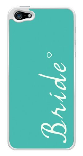 turquoise-bride-wedding-bridal-snap-on-cover-hard-plastic-case-for-iphone-5-5s-white