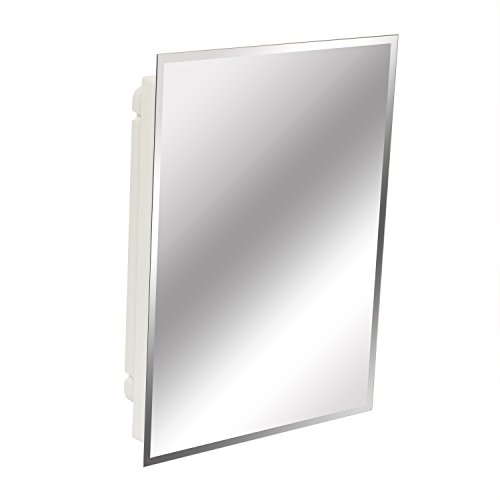 American Pride 9622WBAR12 - rahmenloser Spiegel mit abgeschrägtem Rand 40,6 x 55,9 cm (Rahmenlose Badezimmer Spiegel)