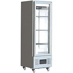 Foster fsl400g porta in vetro display frigorifero, 400l