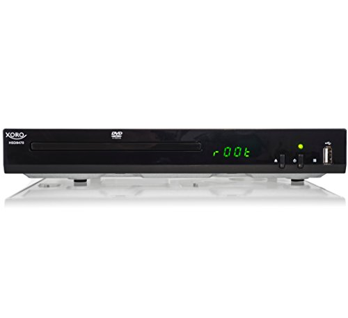 PEG4 DVD-Player (USB 2.0, Mediaplayer, 1080p Upscaling, MultiROM) schwarz ()