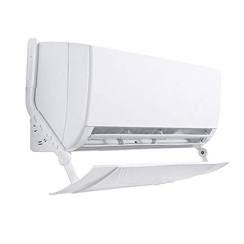 topxingch Diffusore Aria condizionata Regolabile Coperchio Parabrezza Freddo Appeso deflettore deflettore Piatto Bianco