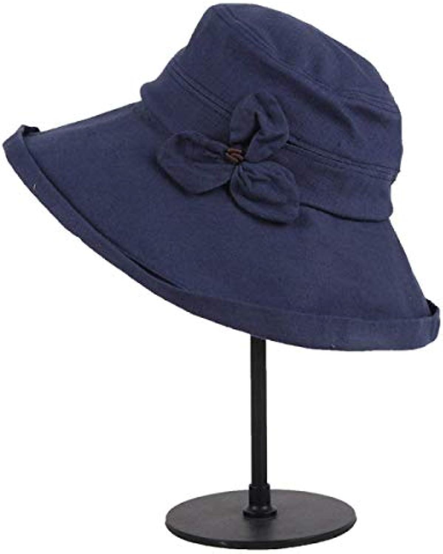 Oudan Cappellino a da Viaggio con Cappello a Cappellino Tesa Larga da Donna  (Coloreee Blu 26545dd72930