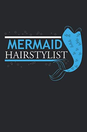 Mermaid Hairstylist: Friseur Ocean Holiday Barber Notizbuch liniert DIN A5 - 120 Seiten für Notizen, Zeichnungen, Formeln | Organizer Schreibheft Planer Tagebuch -