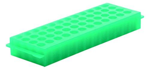 camlab Kunststoffe RTP/7110-48G 48gut Polypropylen wendbar Rack, grün