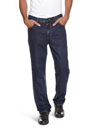 Wrangler Men's Durable Stretch Regular Fit Jeans, Darkstone, W30/L30