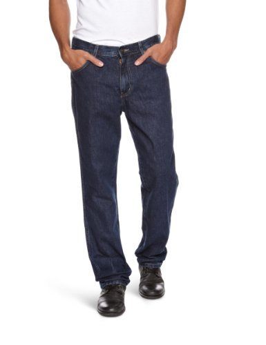 Wrangler Texas Stretch Herren Jeans, Regular Fit, Blue (DARKSTONE), Gr. W40/L32 (Casual And Pants Big Tall)