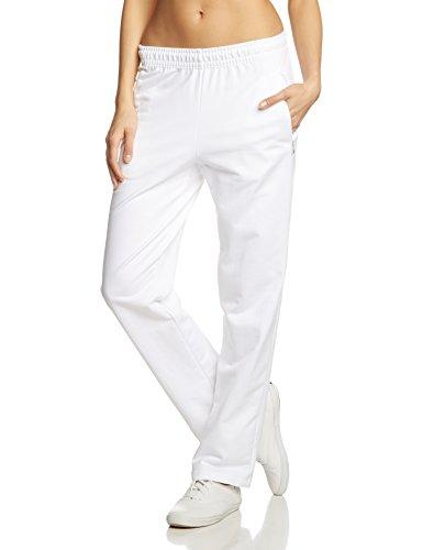 Trigema Damen Sporthose Sweat-Qualität, Gr. 48 (Herstellergröße: XL), weiß (weiß 001)