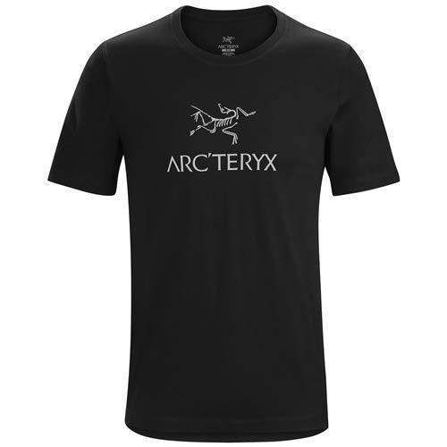 Herren-arc (Arc'teryx Herren Arc'Word SS T-Shirt, Black, M)
