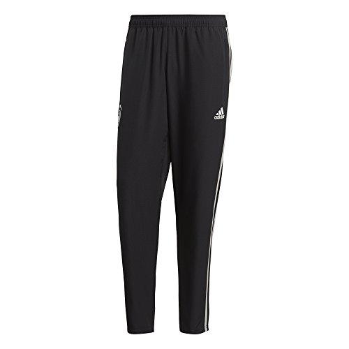 adidas Herren Dfb Wov Pnt Trainingshose, Black/Grey Two f17/White, L