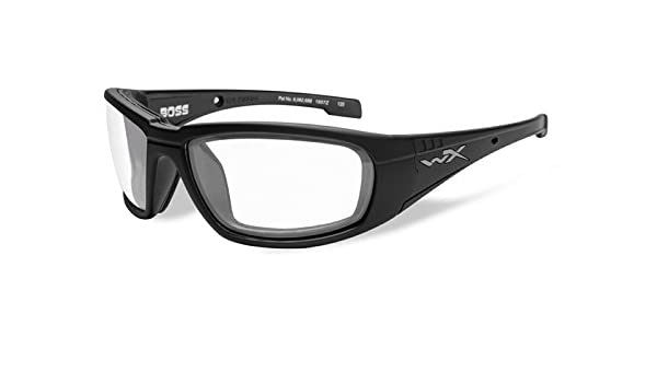 M-L CCGRA01 Wiley X Schutzbrille WX Gravity aus der Black Ops Kollektion Matt Schwarz