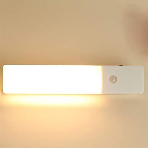 Tanbaby PIR Bewegungsmelder Nachtlicht USB Wiederaufladbare 3-Modi LED Wandleuchte Schrank Schublade Schrank Kleiderschrank Nachtbeleuchtung - Schubladen Nähen