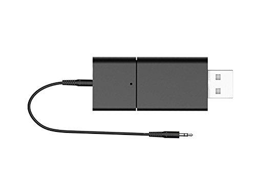 Bluetooth Sender Audio mit 3,5 mm Portable Stereo Wireless Music Adapter für TV, PC, iPod, MP3 / MP4 mit Bluetooth-Kopfhörer/Receiver gepaart Portable Video-sender