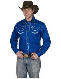 Western Express - Chemise habillée - Avec boutons - Manches Longues - Homme
