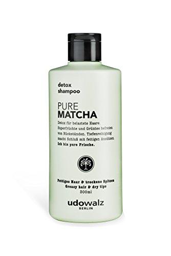 Udo Walz Hairfood Detox-Shampoo Pure Matcha, 1er Pack (1 x 300 ml)
