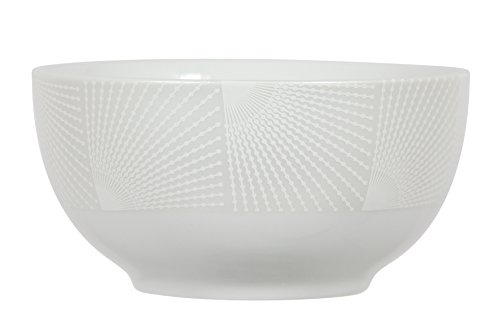 Novastyl 8012706.0 Solaris Bol Porcelaine Blanc 13 ml 13,5 x 13,5 x 7,0 cm Lot de 6