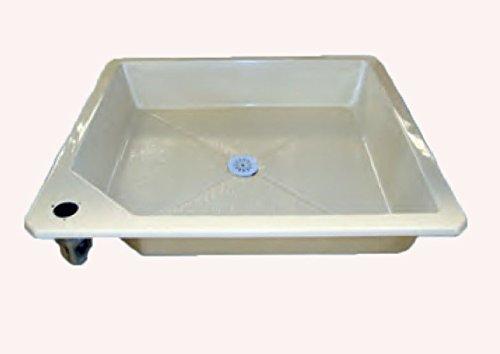 Plato de ducha 43 mm para jardín