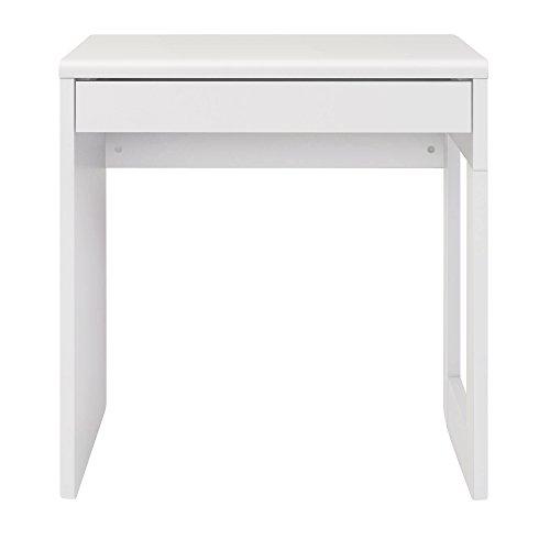 Furniture 247 Computertisch im modernen Stil für das Heimbüro - Weiß