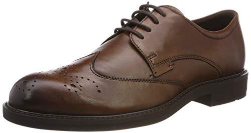 Ecco Vitrus III, Zapatos Cordones Brogue