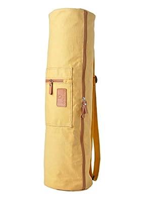 Yogatasche »SunitaÂ« von #DoYourYoga aus hochwertigem Canvas (Segeltuch), aufwendig verarbeitet, für extra große Yogamatten und Gymnastikmatten bis zu einer Größe von 186 x 63 x 0,6 cm, in verschiedenen Edel-Designs erhältlich.
