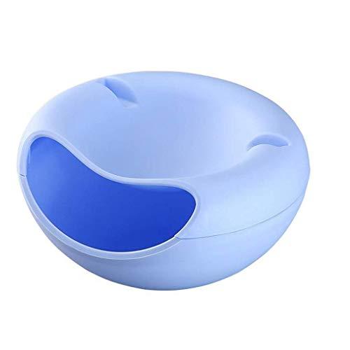 GJJSZ Tabletthalter Obstschale Multifunktions Wohnzimmer Obstkorb Aufbewahrung Snack Nuss Candy (Farbe: B)