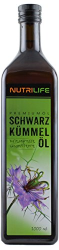 Schwarzkümmelöl 100% naturrein und naturbelassen !! UNGEFILTERT !! 1000ml in Glasflasche ***...