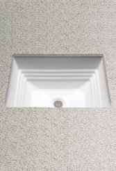 Toto LT533#01 Promenade 20-1/2-Inch by 16-1/2-Inch Undercounter Lavatory Sink, Cotton by Toto