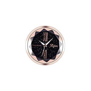 DQANIU- 🌸🌸Autodekoration, elektronische Meter Auto Uhr Zeitmesser Auto Innenverzierung, einfaches Einfügen praktische elektronische Auto Uhr, 5 Stile