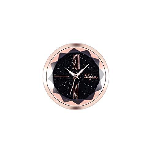 DQANIU- Autodekoration, elektronische Meter Auto Uhr Zeitmesser Auto Innenverzierung, einfaches Einfügen praktische elektronische Auto Uhr, 5 Stile