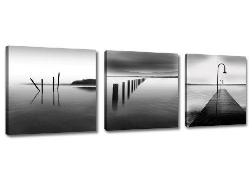 4216 naturaleza Cuadros en Lienzo ´ 150 x 50 cm Nr