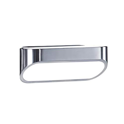 Helestra Onno LED Wandleuchte 18cm, aluminium poliert BxHxT 18x7x9cm 3000K 400lm