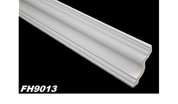 2 Meter PU Zierleiste Leiste Stuck Eckprofil sto/ßfest 70x70mm FH9013