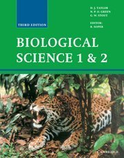 Biological Science 1 and 2 (v. 1&2) 3rd edition by Taylor, D. J., Green, N. P. O., Stout, G. W. (1997) Hardcover