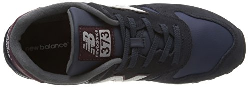 New Balance ML373 D, Baskets mode homme Bleu (Nsr Navy/Red)