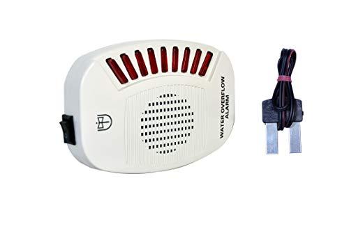 Tool Point Plastic Water Tank Overflow Alarm Sound System (Medium, White)