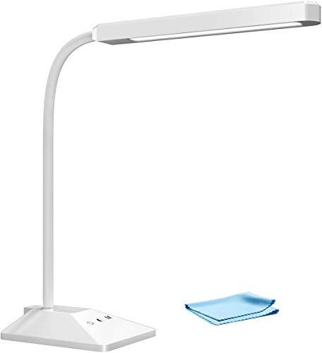 Lampe de Bureau 48 LED, TOPELEK Lampe de Table Tactile...